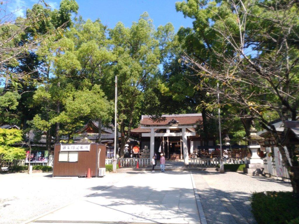 武田神社の敷地内