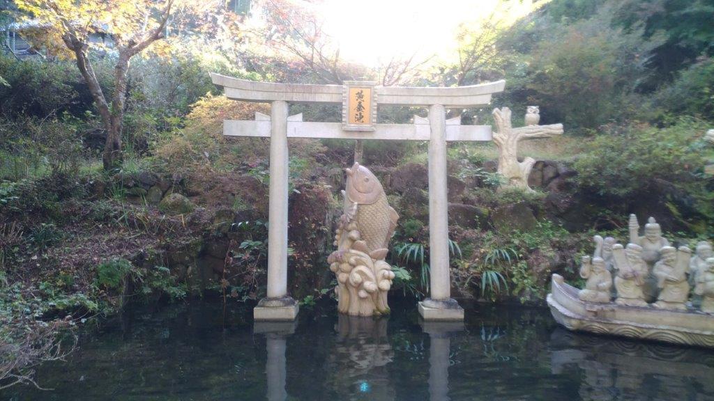 黄金池(昇仙峡内)