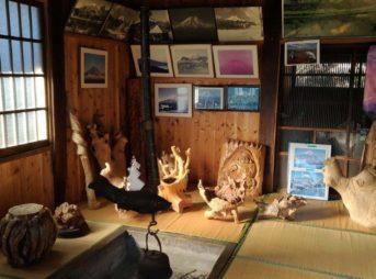 榛の木林資料館,忍野八海