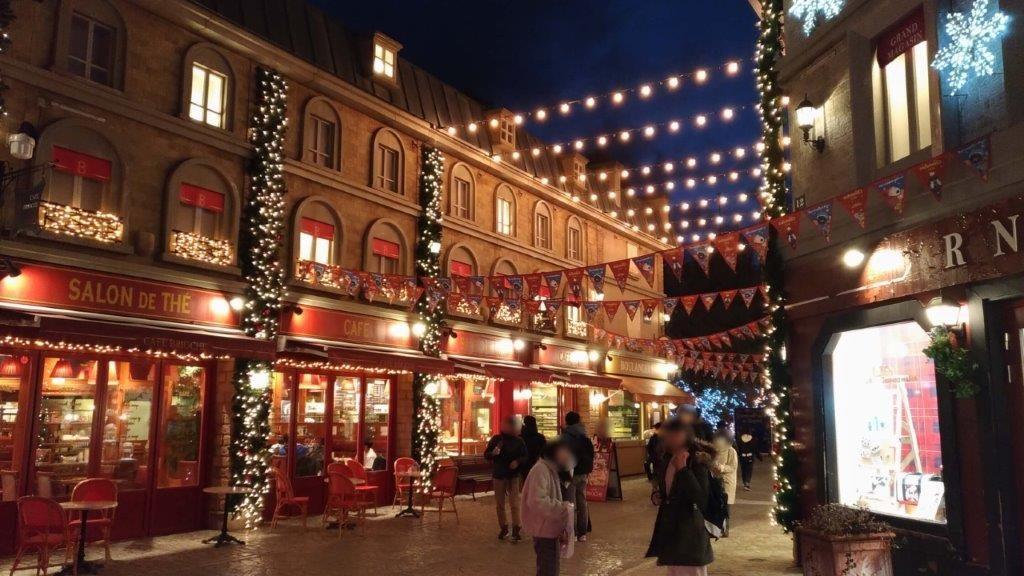 リサとガスパールタウン,イルミネーション,富士急,クリスマス