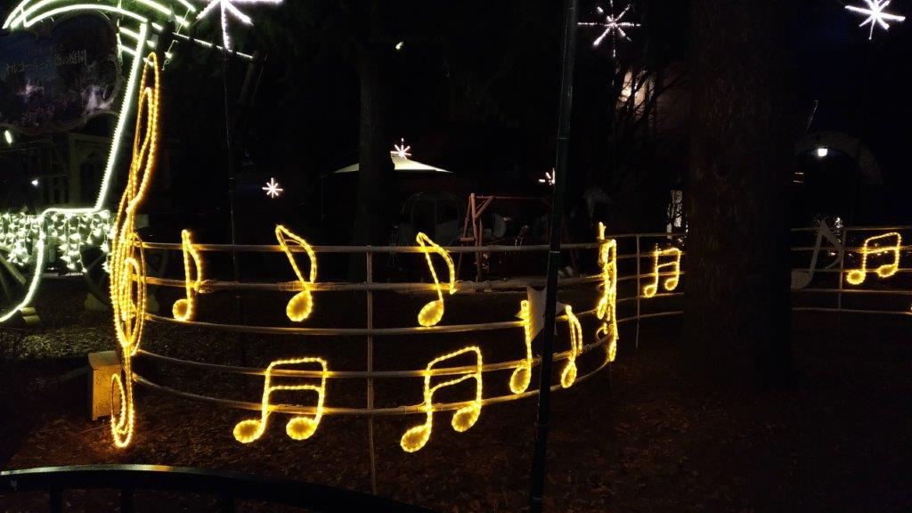 「音楽と森の美術館」イルミネーションを画像付きでレポート♪ (3)