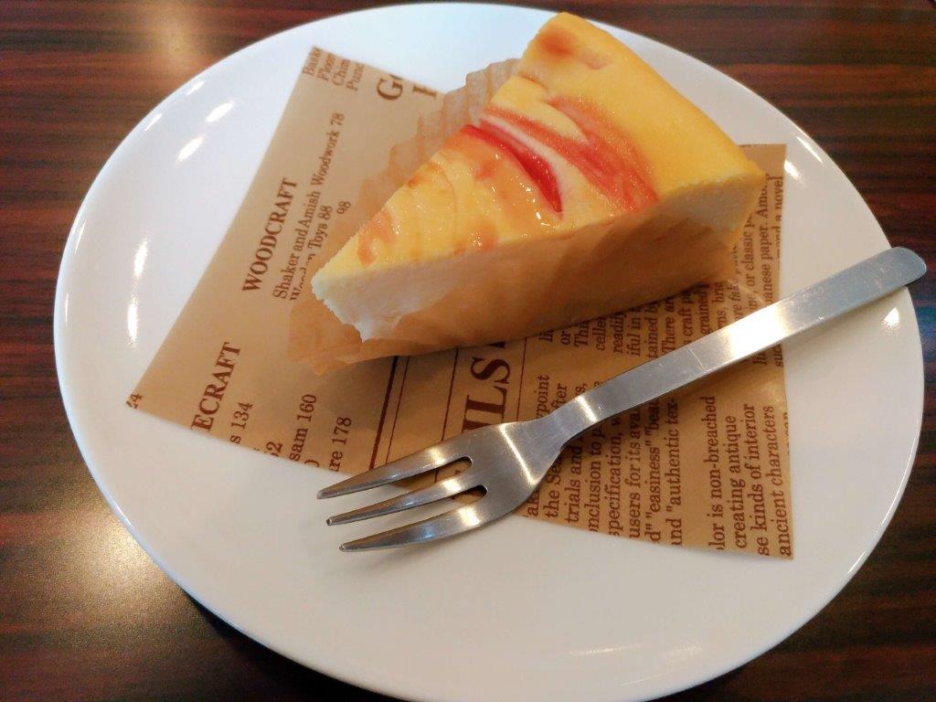 ボンボンカフェ,すももマーブルベイクドチーズ