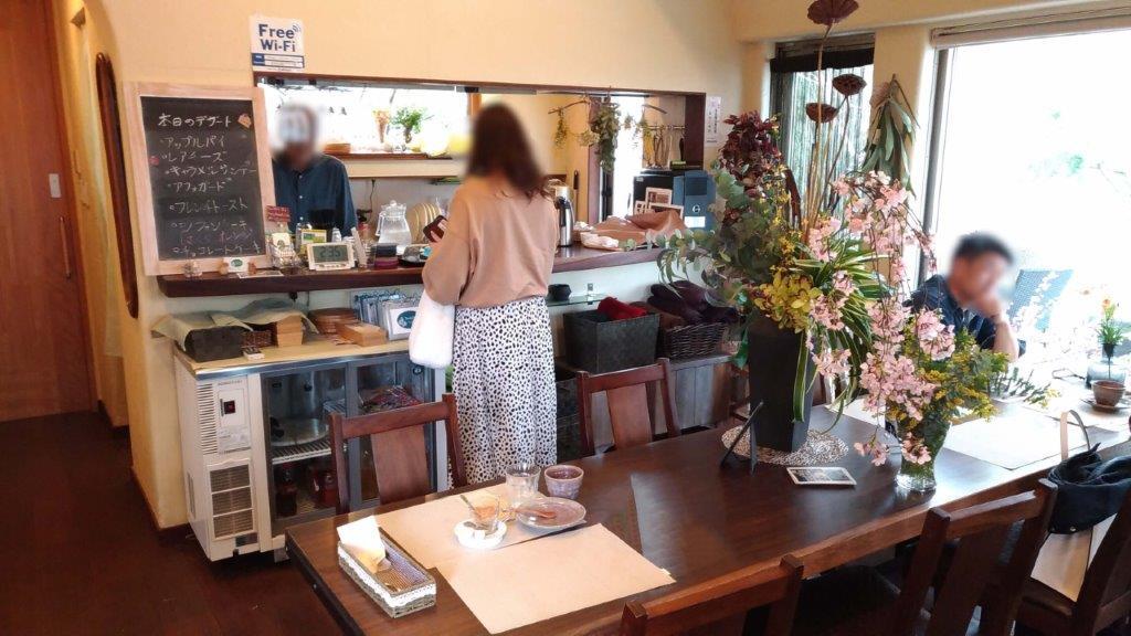 フォーレストカフェ,ランチ,甲府