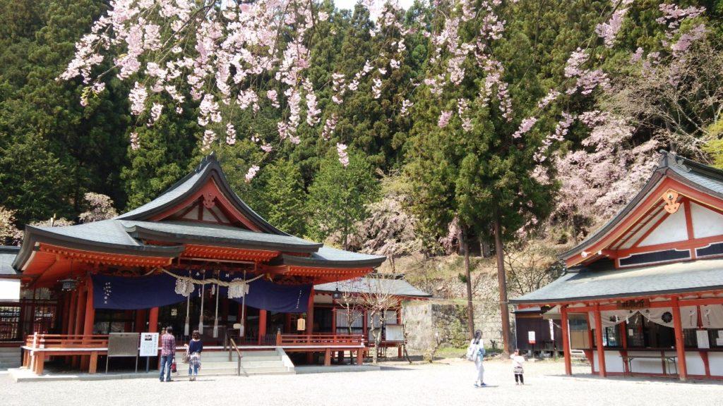 金櫻神社(昇仙峡内)