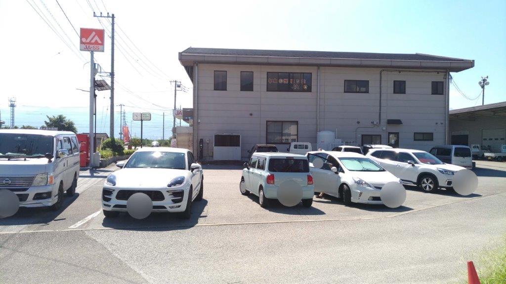 かすがい農産物直売所,駐車場